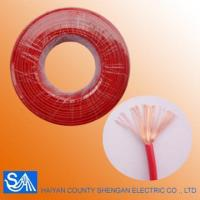 Buy cheap Hot Selling Flexible Control Electric Wire Color Code Single Wire from wholesalers