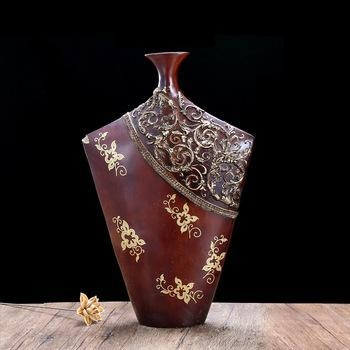 antique resin home goods decorative flower vase for vase decoration of syhomedecors
