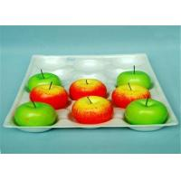 Buy cheap Rectangle Plastic Fruit Packaging Containers PP Insert Tray For Protect from wholesalers