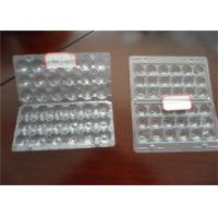 Buy cheap Hard Plastic Quail Egg Trays , Polystyrene Egg Carton Packaging For Refrigerator Egg Storage from wholesalers