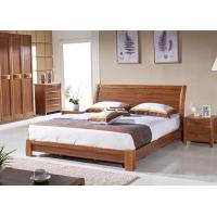 Buy cheap Hotel Bedroom Furniture Queen Size Wooden Bed Frame from wholesalers