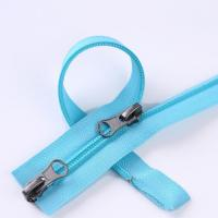 Buy cheap Zipper 5 Nylon Zipper Two-way Open-end with A/L Slider from wholesalers