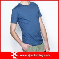Buy cheap 2013 New Mens Promotional Plain 100% Cotton T-shirt Round Neck T-shirt from wholesalers