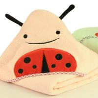 Buy cheap high quality 100%cotton lovely baby hood towel Round Towel from wholesalers