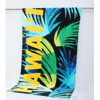 Buy cheap 100% cotton car pattern reactive printed velour beach towel Round Towel from wholesalers