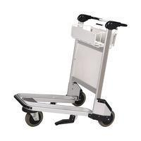Buy cheap Popular Hand Brake Stainless steel Airport Luggage and Baggage Trolley from wholesalers