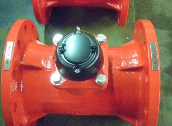 Hot Water Dial : Electric dry dial flanged hot water meter heater element