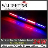 Buy cheap 20W COB Blue LED Stick Traffic Advisor Lights with Cigar Plugs from wholesalers
