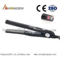 Buy cheap Professional Salon hair tools 13/4 magic PTC heater LCD diaplay 450F ionic Narrow plate Vibration ha from wholesalers