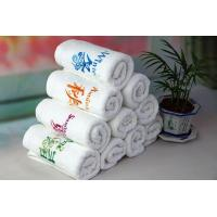 Buy cheap Magic embroidery hand washcloth gift towel supplier from wholesalers