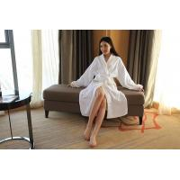 Buy cheap Cut Pile Bathrobe Womens, Star Hotel Robes With Custom Embroidered Design from wholesalers