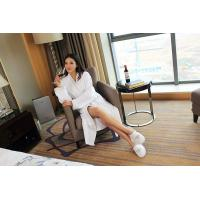 Buy cheap Luxury 5 star waffle weave bathrobe manufacturer from wholesalers