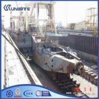 Marine cutter suction dredgers ladders