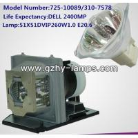 Buy cheap Original Projector lamp 725-10089、310-7578 For DELL 2400MP from wholesalers