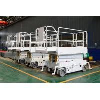 Buy cheap Mobile scissor lifts with Auxiliary traction retractable table from wholesalers