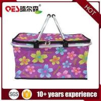 Buy cheap Reusable custom insulation vegetables and fruits cheap gift picnic basket from wholesalers