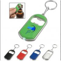 Buy cheap MP302-2Bottle Opener Key Chain With Led Light from wholesalers