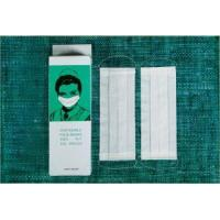 Buy cheap 100% wood pulp 2ply paper face mask from wholesalers