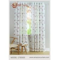 Buy cheap Voile Embroidery Curtain MODEL #17E0503 from wholesalers