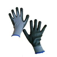 Buy cheap Breathable Foam ,15G nylon-lycra shell ,foam nitrile DOT coated working glove from wholesalers