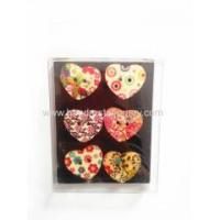Buy cheap Funny wooden heart shape toys,Hot Sale DIY Wooden Magnet Child Toy from wholesalers