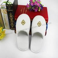 Buy cheap Waffle cloth hotel slipper from wholesalers