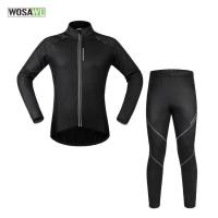 Buy cheap WOSAWE Men's Cycling Long Jersey Set BC453 from wholesalers