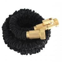 Buy cheap Black Flexible Expandable Garden Hose with Free Solid Brass Quick Release Connector. from wholesalers