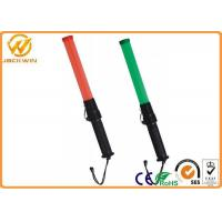 Buy cheap High Brightness Traffic Safety Wand , Red LED Lights Battery PoweredAirport Marshalling Wands from wholesalers