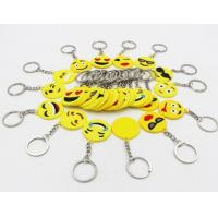 Buy cheap Custom Promotional Products Logo Emoji Keychains Tags from wholesalers