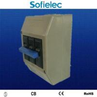Buy cheap 3 phase miniature circuit breaker with box from wholesalers