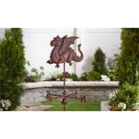Buy cheap Iron Dragon Weathervane Garden Stake from wholesalers
