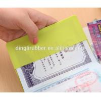 Buy cheap Wholesale Personalized Silicone Passport Holder Cover Case from wholesalers