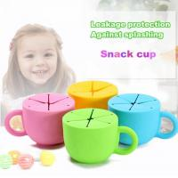 Buy cheap Wholesale silicone snack cup snack food food container from wholesalers