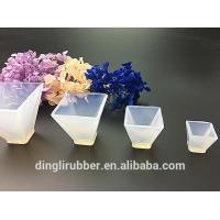 Buy cheap Transparent pyramids-Shape Silicone Moulds Mold Resin Jewell from wholesalers