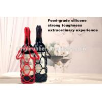 Buy cheap silicone wine mesh bag silicone wine tote wine bag silicon m from wholesalers