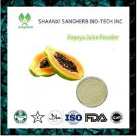 Buy cheap Food Supplement Papaya Fruit Juice Powder with best price from wholesalers