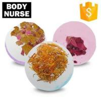 Buy cheap Private Label Spa Colorful Packaging Bubble Cleansing Dry Flower Fizzer Bath Bombs Gift Box from wholesalers