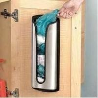 Buy cheap Stainless Steel Carrier Bag Storage Tidy Holder product