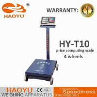 Buy cheap Wheel folding electronic pricing scales T11/D42L from wholesalers