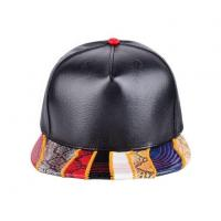 Buy cheap 5 Panel Small Adjustable Fresh Flat Bill Leather Snapback Hats Caps for Women from wholesalers