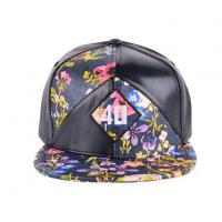Buy cheap 6 Panel Leather Cool Baseball Snapback Hats Caps With Words for Girls from wholesalers