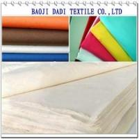 Buy cheap 100% Cotton Fabric C100 32x32 68x68 63The new plain burrs dyeing cloth from wholesalers