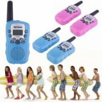 Buy cheap 2x RT-388 Rose Red Walkie Talkie 0.5W 22CH Two Way Radio For Kids Children Gift from wholesalers