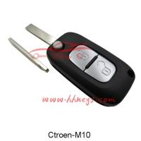 Buy cheap Car Keys Citroen/Peugeot 407 2 Buttons Modified Flip Key Shell (HU83) from wholesalers