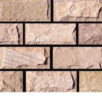 Buy cheap Red Sandstone Mushroomed Stone Strip from wholesalers