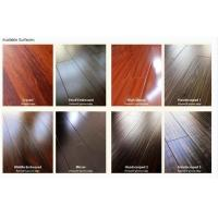 Buy cheap silk surface with painted v-groove laminate flooring from wholesalers