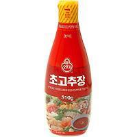 Buy cheap Condiments Vinegared Red Pepper Paste for Sushi - 17.98oz product