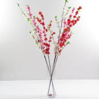 Buy cheap Artificial peach flower branch from wholesalers