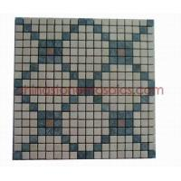 Buy cheap Natural Beige, Green & Red Marble Mosaic from wholesalers